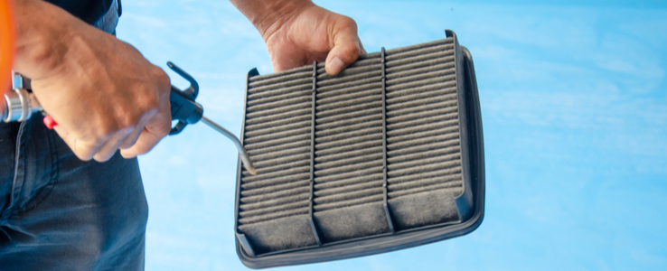 Frühjahrscheck: Luftfilter reinigen