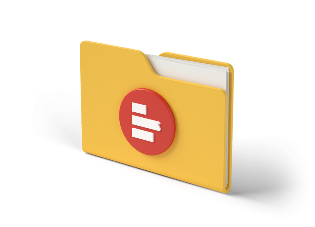 3D folder with Supermetrics icon