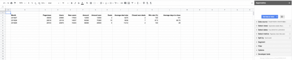 GA-HubSpot-data