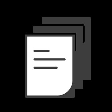 Supermetrics paper icon white