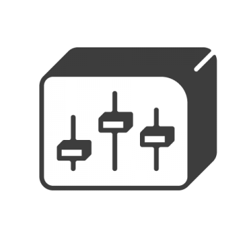 Supermetrics dashboard icon white