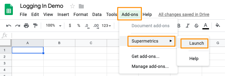 LinkedIn Ads logging to Supermetrics for Google Sheets