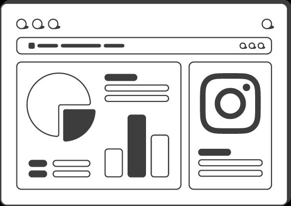 Instagram Insights template tutorial transparent