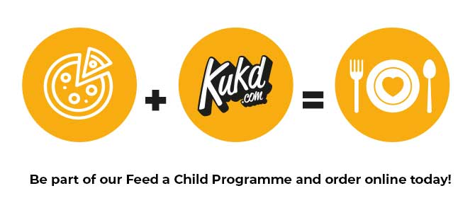 Be part of our Feed a Child Programme and order online today!