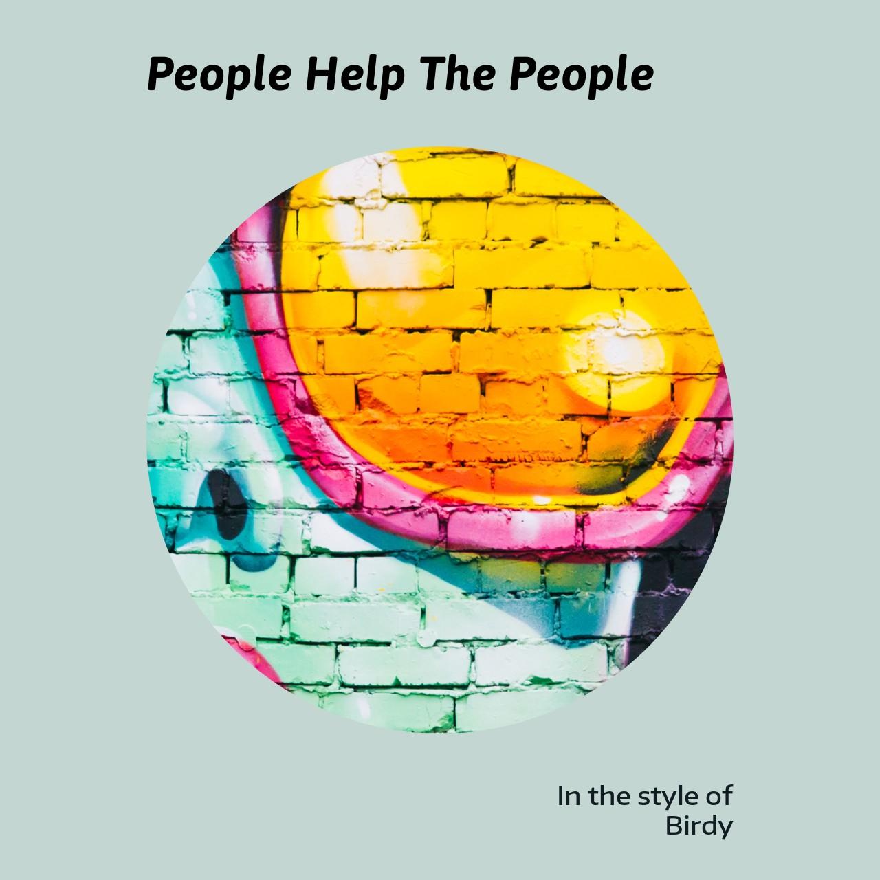 Birdy - People Help The People | Sing karaoke on Singa