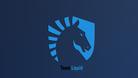 Screenshot of the Team Liquid logo on a blue background.
