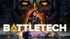 Promotional image for BattleTech showing an Atlas mech.