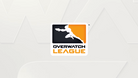 Overwatch League logo black, orange and white.