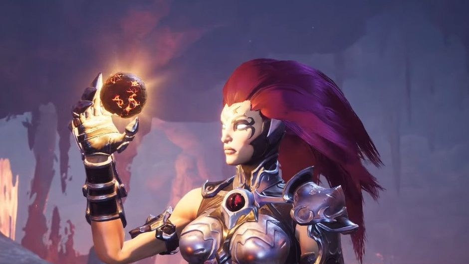 picture showing main female character from Darksiders 3