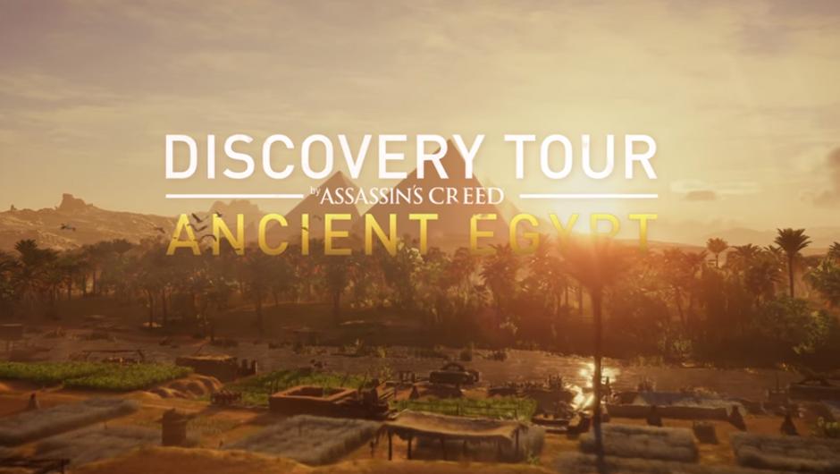 Assassin's Creed Origins Discovery mode logo