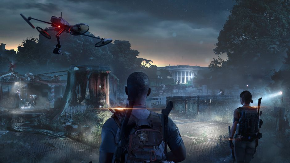 Concept art from The Division 2