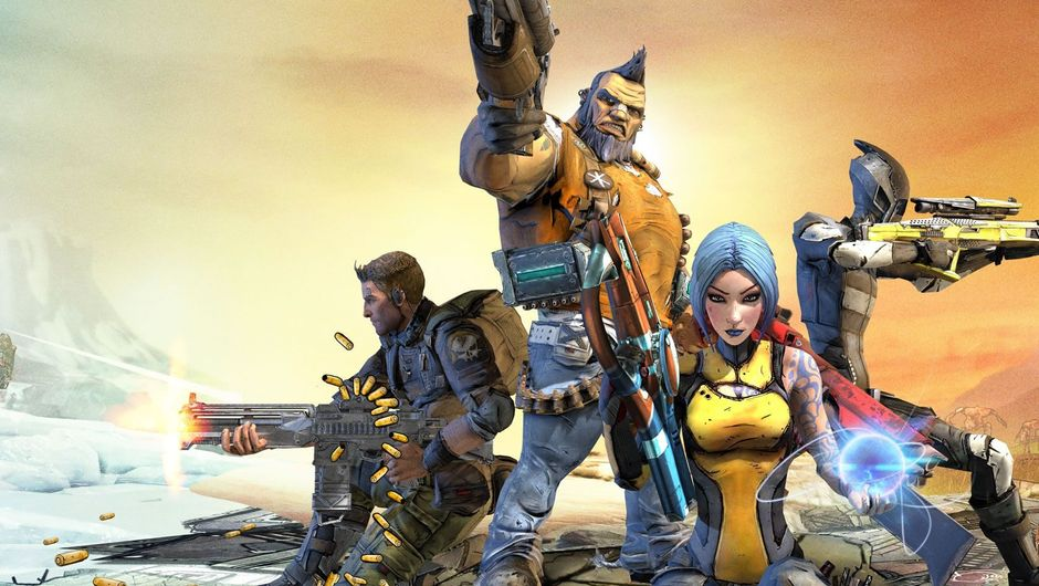 Picture of the protagonists from Borderlands 2