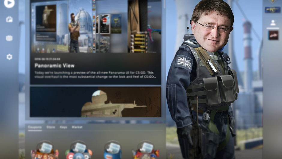 Valve updates CS:GO's UI