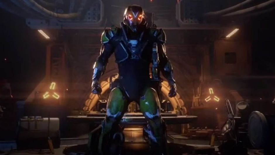 Anthem's forge and Javelin showcase