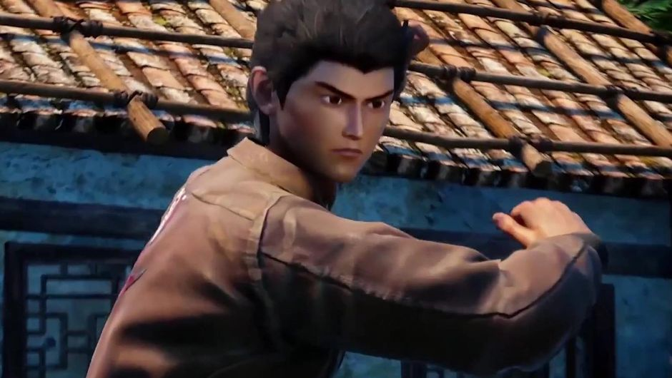 Game's protagonist standing in a fighting position.