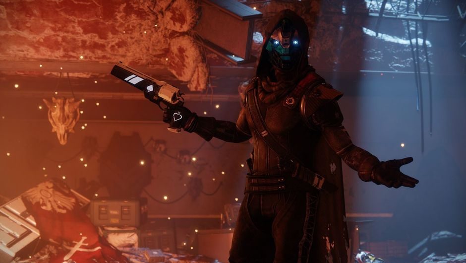 Cayde 6 posing in Destiny 2