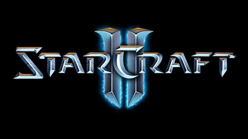 Written insignia and logo for the game Starcraft 2 by Blizzard