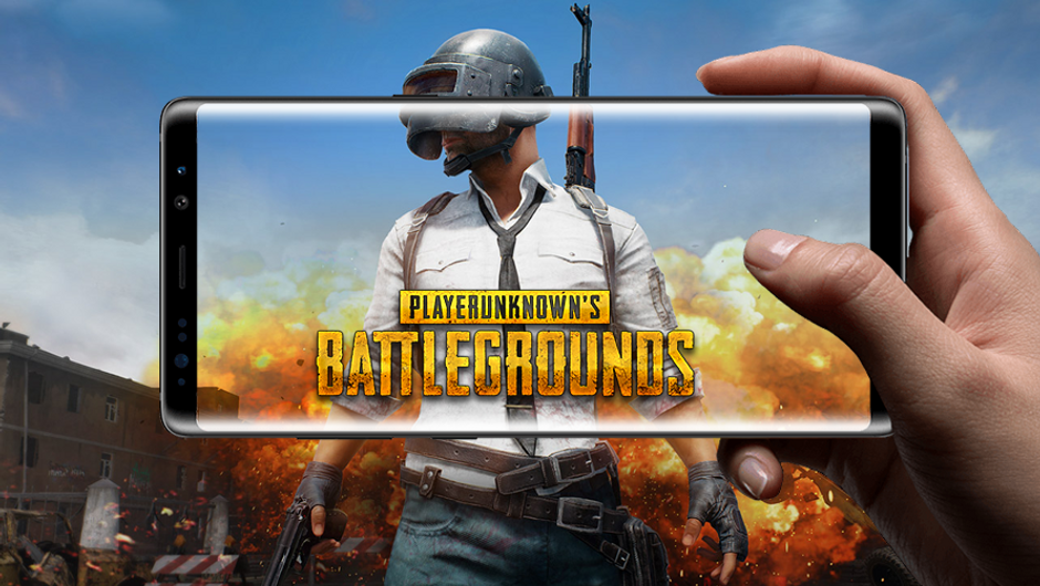 PlayerUnknown's Battlegrounds promotional picture for its mobile version.