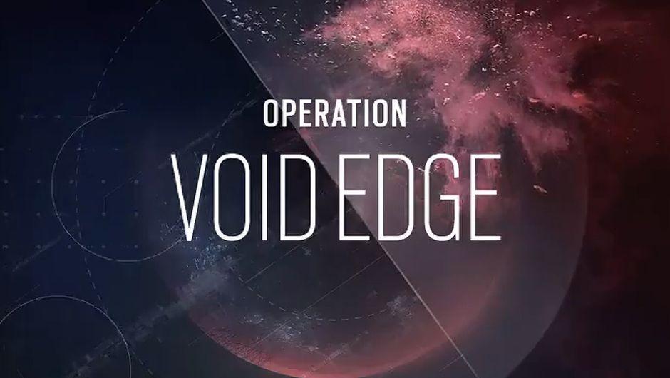 rainbow six siege artwork showing Operation Void Edge