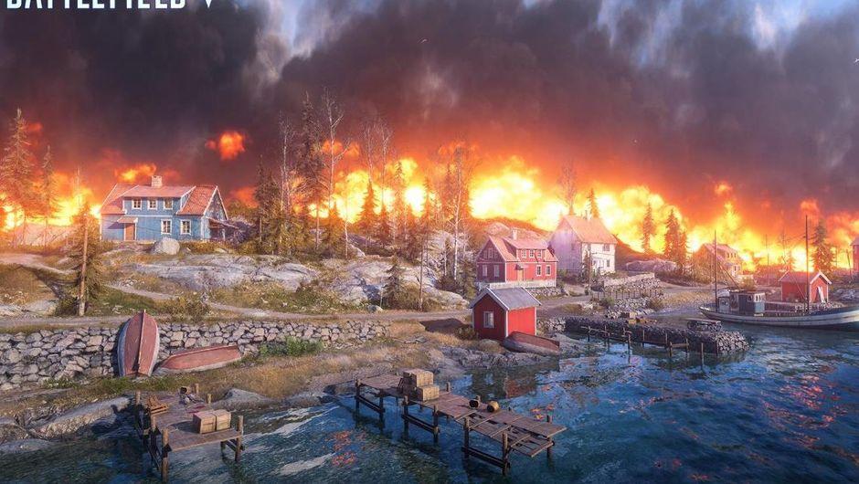 battlefield v screenshot showing ring of fire