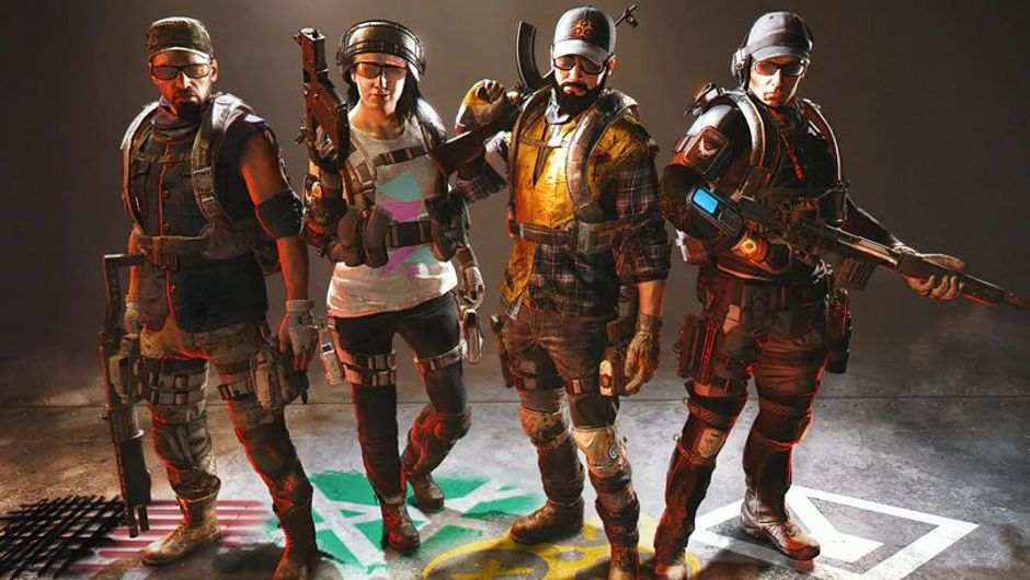 picture showing several characters from the division 2