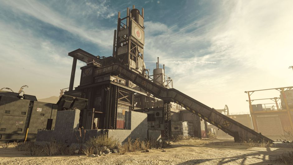 Call of Duty: Modern Warfare, Season 2, Rust map