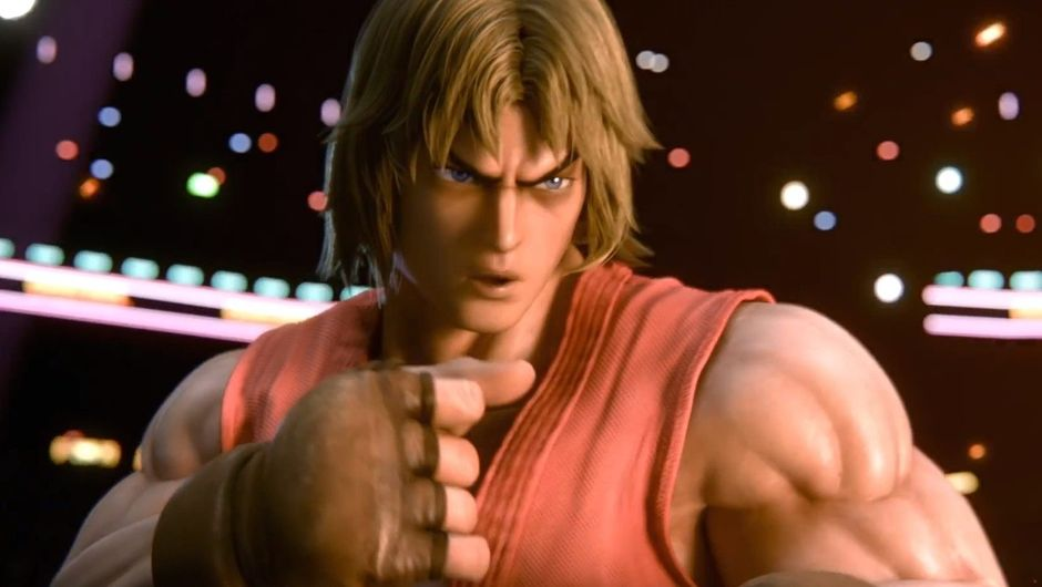 Picture of Ken from Street Fighter in Smash Bros Ultimate