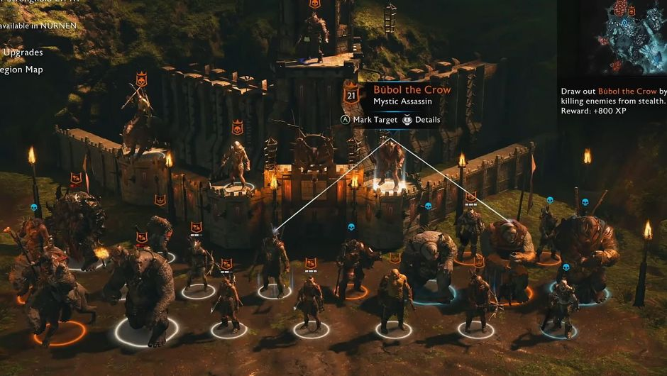 Overview of Middle-earth: Shadow of War's fortress assault feature