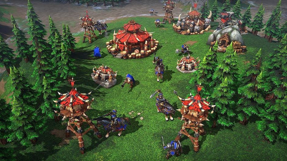 screenshot of Warcraft III: Reforged
