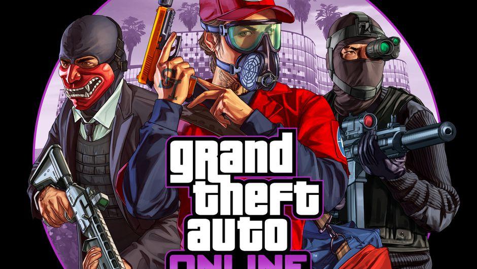 GTA Online - The Diamond Casino Heist PlayStation 4 cover art