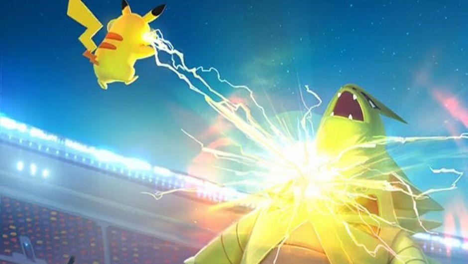 Battle in Pokemon Go