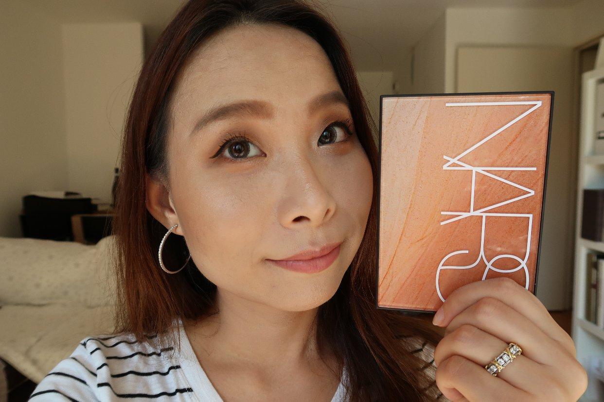 Nars眼影盘Summer Light妆容试色分享