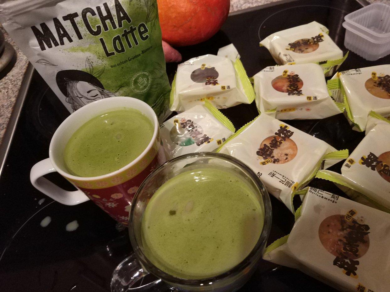 Lidl超市也有类似抹茶粉买