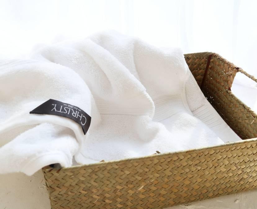 自从我买了一块长绒棉浴巾之后,恨不得每天洗8次澡
