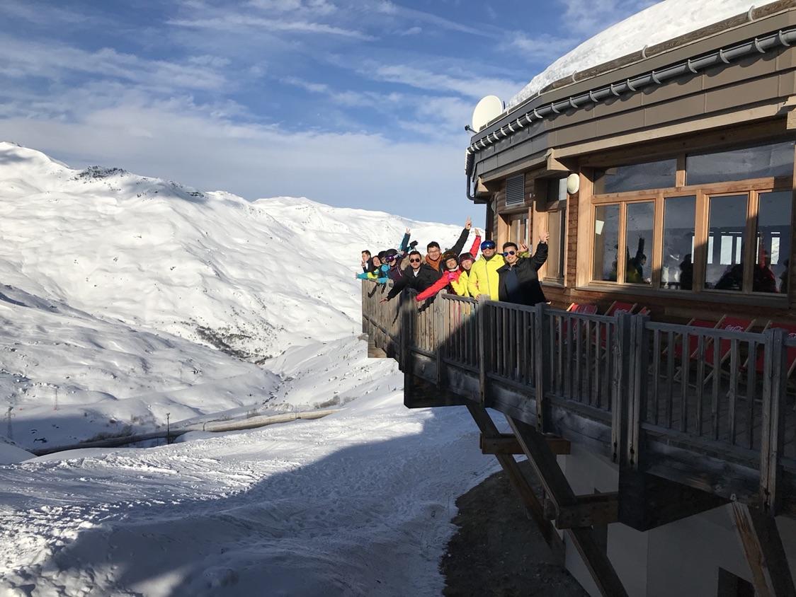 好想带父母来滑雪