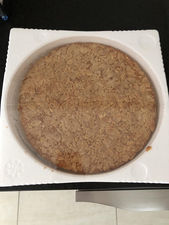 好吃的杏仁蛋糕🍰