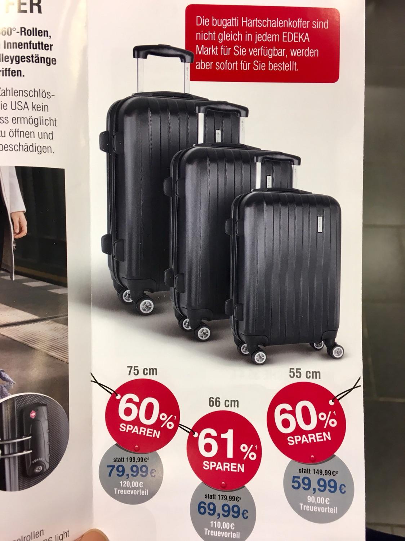 59欧的bugatti旅行箱,超市就能薅到的羊毛!冲鸭!