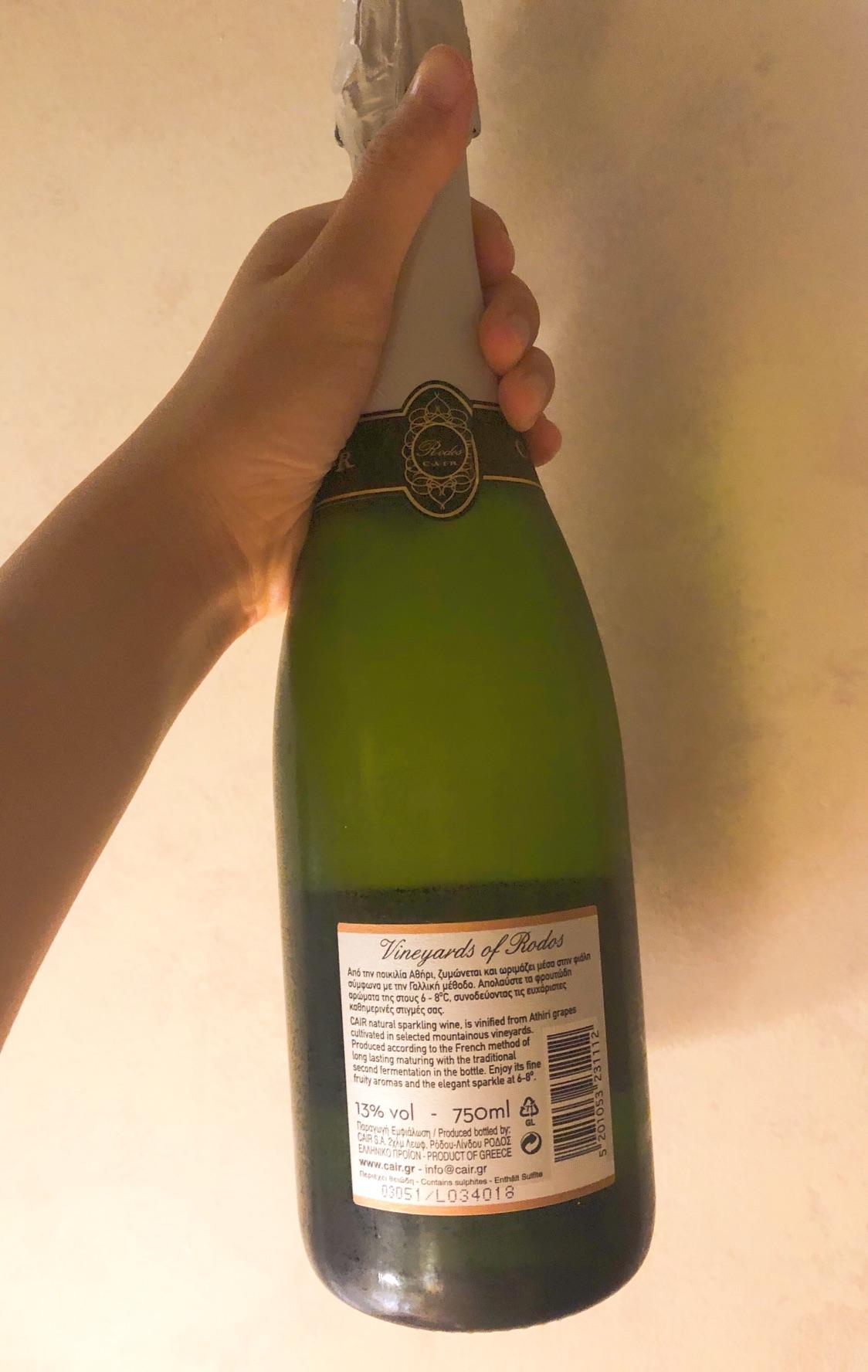 在希腊喝的酒🥂