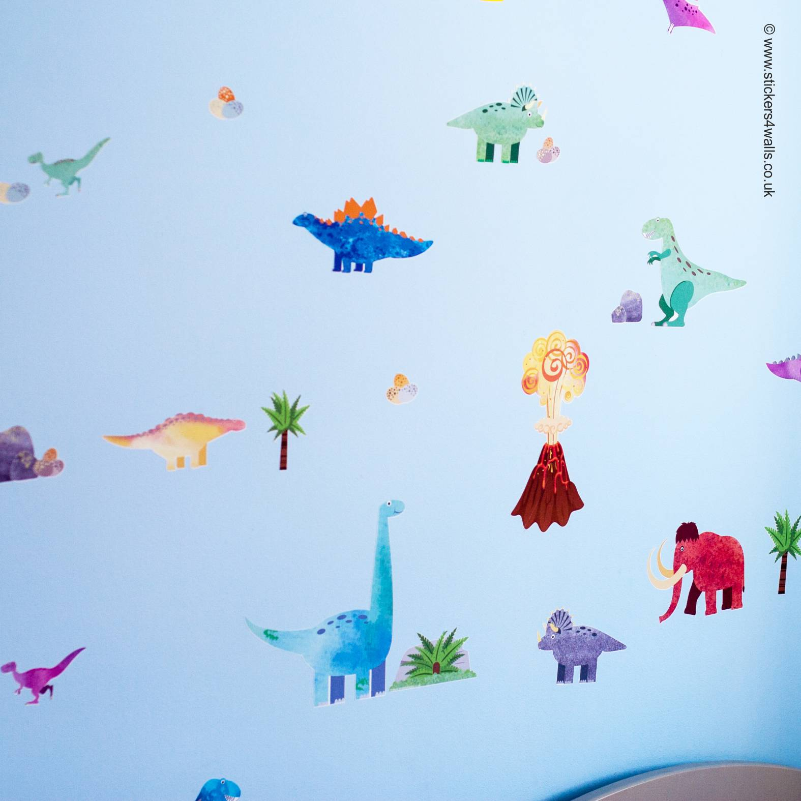 Dinosaur Wall Stickers From Stickers4Walls