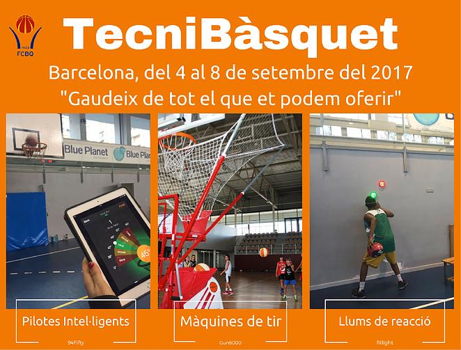 TecniBàsquet setembre 2017 (Barcelona)