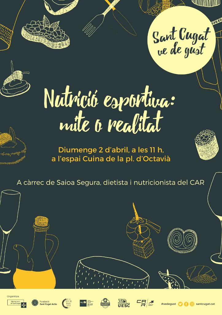 Nutrició esportiva: mite o realitat (Sant Cugat 2017)