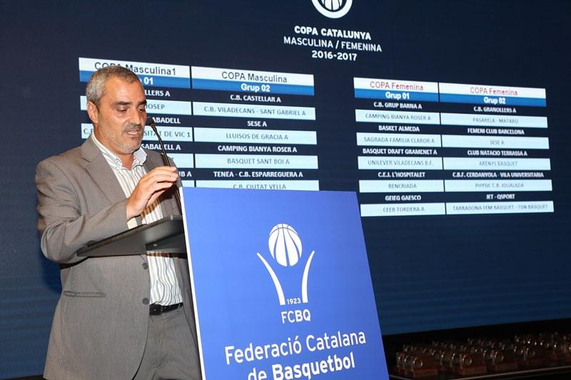 Tret de sortida oficial a la temporada amb la presentació de la Copa Catalunya 2016-17