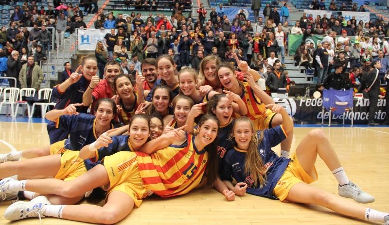 Dues medalles dor i dues dargent per Catalunya a lestatal de seleccions Cadet i Infantil de Huelva 2017