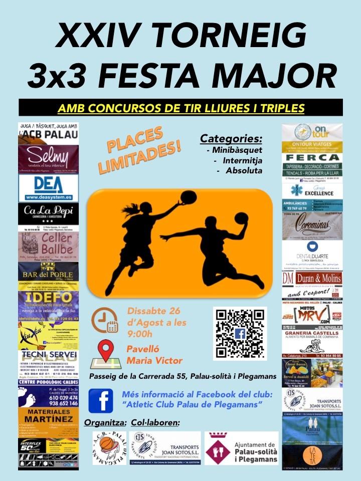 XXIV Torneig 3x3 Festa Major (Palau-solità i Plegamans)