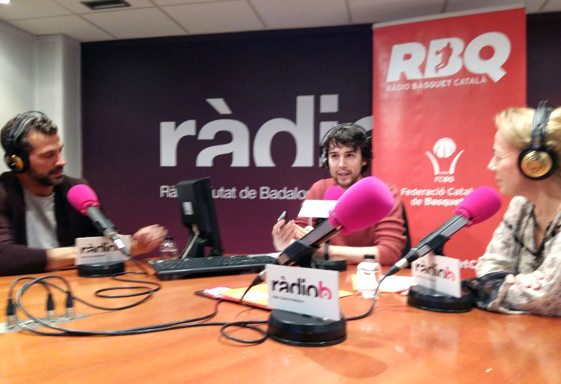 Tertúlia sobre bàsquet femení, la pissarra del tècnic del CB Pardinyes Lleida i el CB Sort-Pallars Sobirà en el 17è programa de Ràdio Bàsquet Català