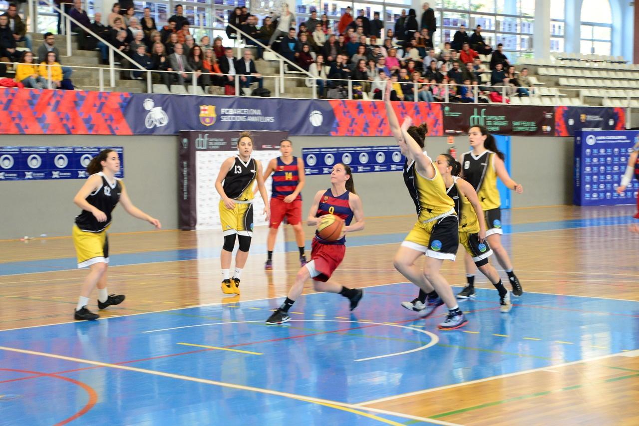 El BARÇA CBS aconsegueix el primer bitllet per la Final a Quatre de la Copa Catalunya Femenina