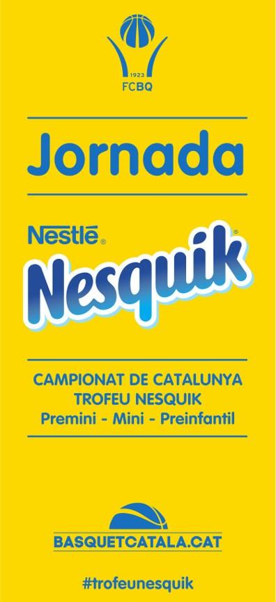 Tarragona escenari, dissabte passat, de la darrera Jornada Nesquik de promoció del bàsquet formatiu