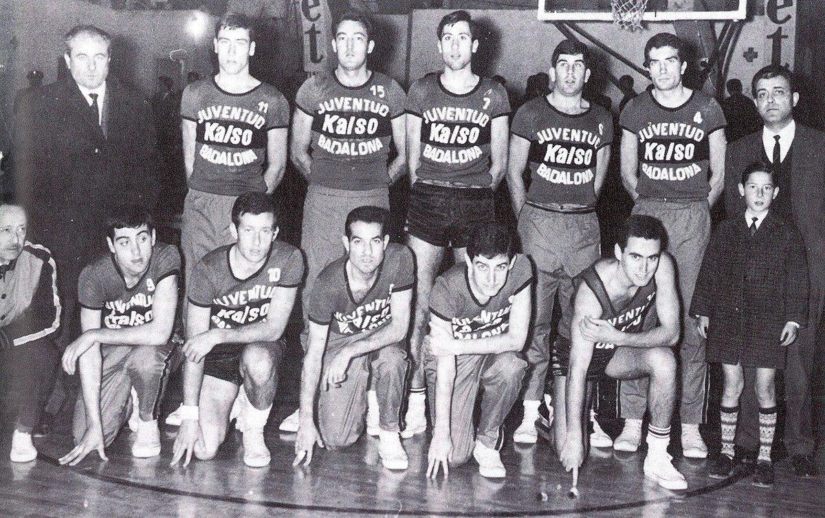 El Joventut de Badalona celebra el 50è aniversari de la seva primera lliga