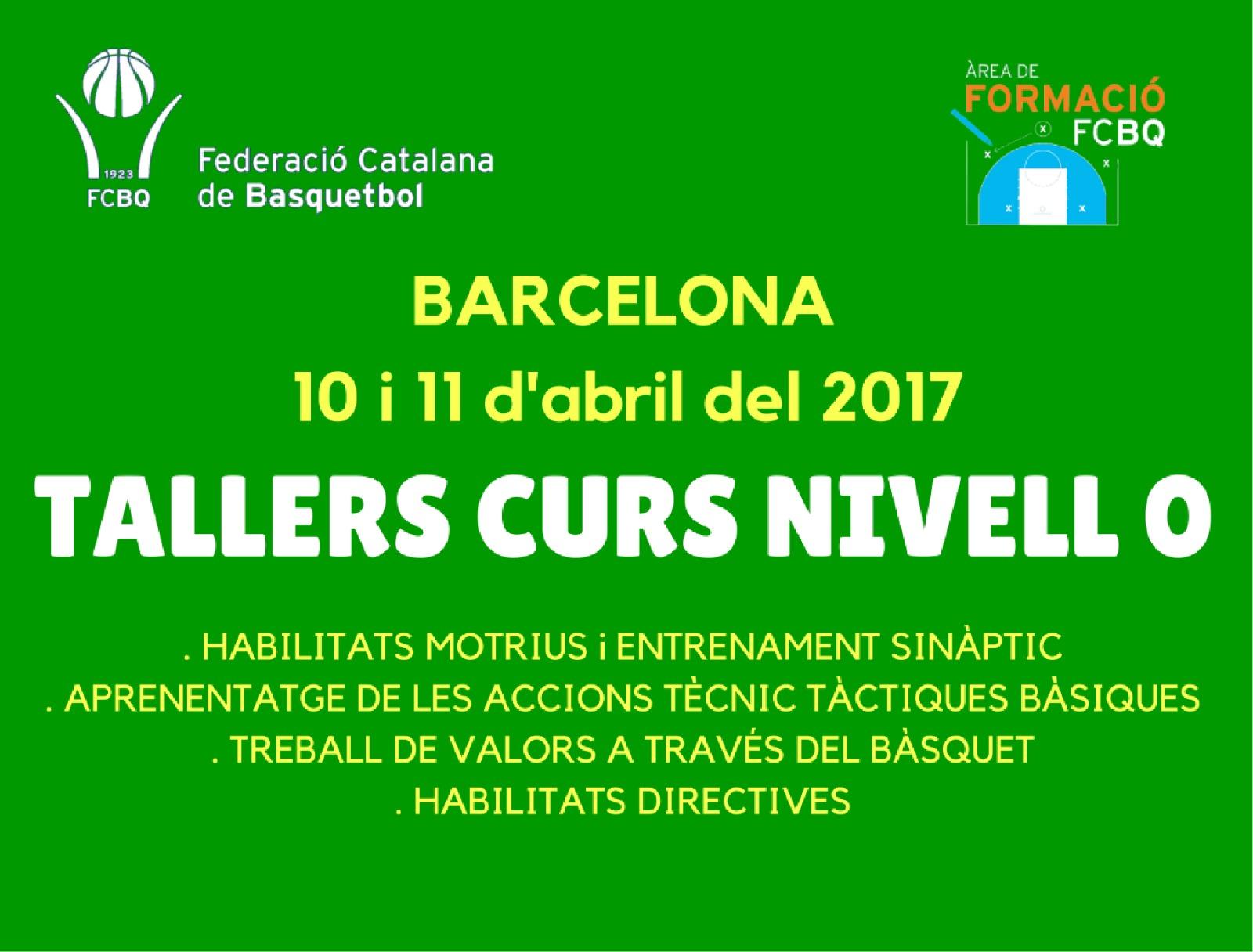 El 10 i 11 d'abril, quatre noustallers de formació a Barcelona