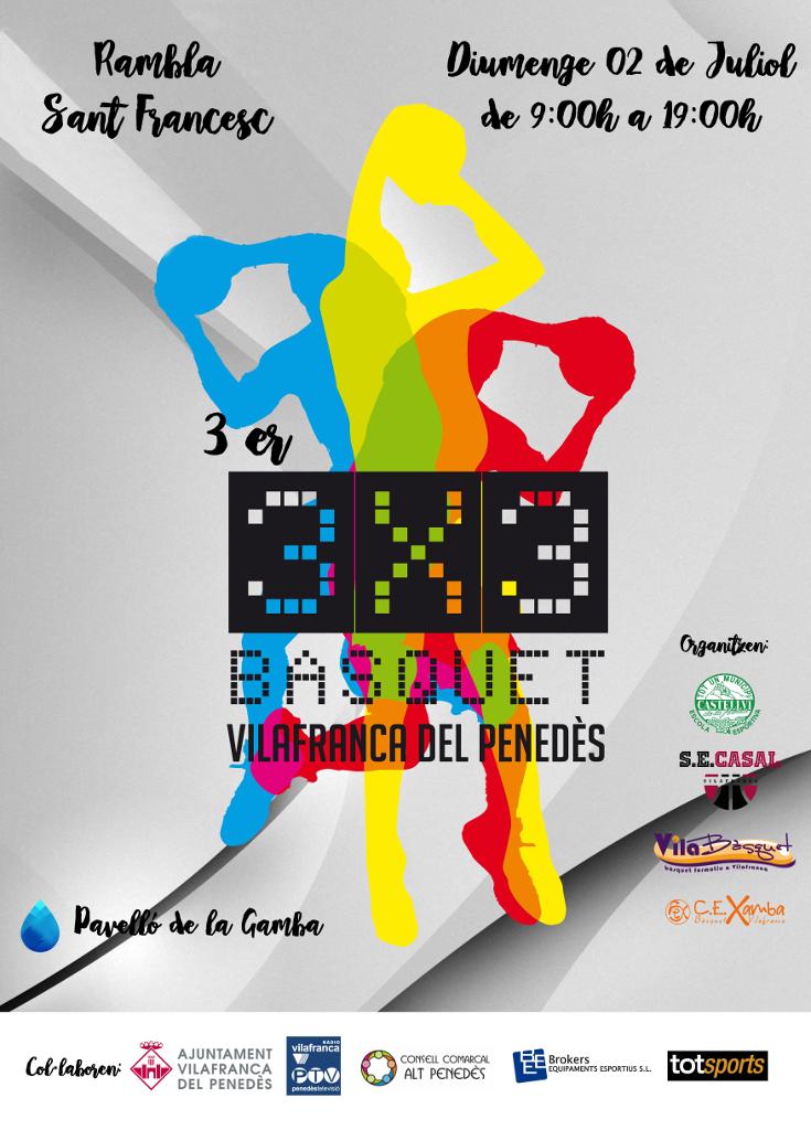 3r 3x3 Bàsquet Vilafranca (Vilafranca del Penedès)
